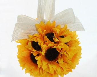 Sunflower Fields Pomander