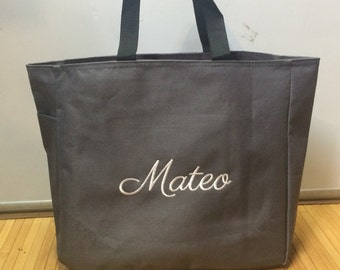 Personalized Tote Bag Baby Diaper Bag Snack Toy Beach Tote