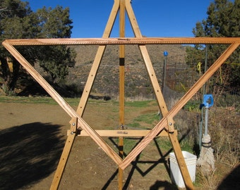 4 foot + Adjustable Triangle Loom