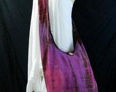 Tie Dye Bag Purse Hobo Hippie Sling Messenger Crossbody Classic OAK XXL Plus Size UC32