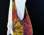 Tie Dye Bag Purse Sling Messenger Crossbody Buddha Hobo Hippie Celebrity Plus Size OAK Long Strap UC43