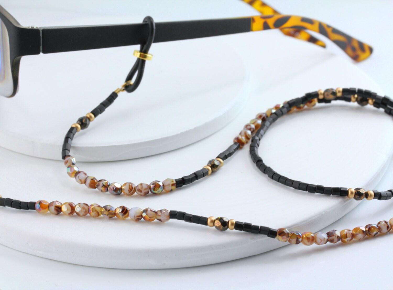 tortoise eyeglass holder necklace eyeglass chain by maetri