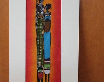 Maasai Trio Batik