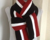 Stylish Scarf for Men.Knitted Scarf.Hand knit Scarf