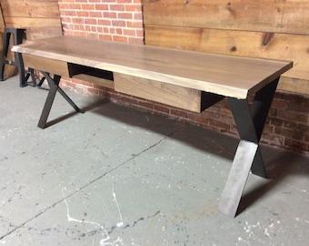 slant and dimensional desk