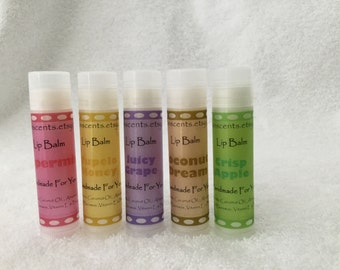Bundle - 3 All Natural Lip Balms