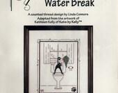 Calico Crossroads: Water Break (OOP) - a Kats by Kelly Cross Stitch Kit