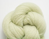Lace Weight Recycled Cashmere Yarn, Honeydew Cashmere Lace Weight Recycled Yarn, 1625 Yards Available