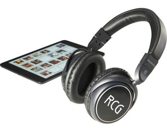 Custom Bluetooth Headphones - Wireless Music Headphones with Laser Engraving