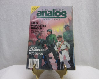 Analog Science Fiction Science Fact, May 1989 paperback book
