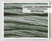 OLD MONEY  : Classic Colorworks hand-dyed embroidery floss cross stitch thread at thecottageneedle.com