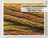 OLD OAK TREE  : Classic Colorworks hand-dyed embroidery floss cross stitch thread at thecottageneedle.com