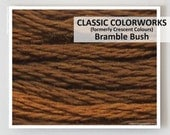 BRAMBLE BUSH : Classic Colorworks 6- strand embroidery floss hand over dyed overdyed thread formerly Crescent Colours cross stitch