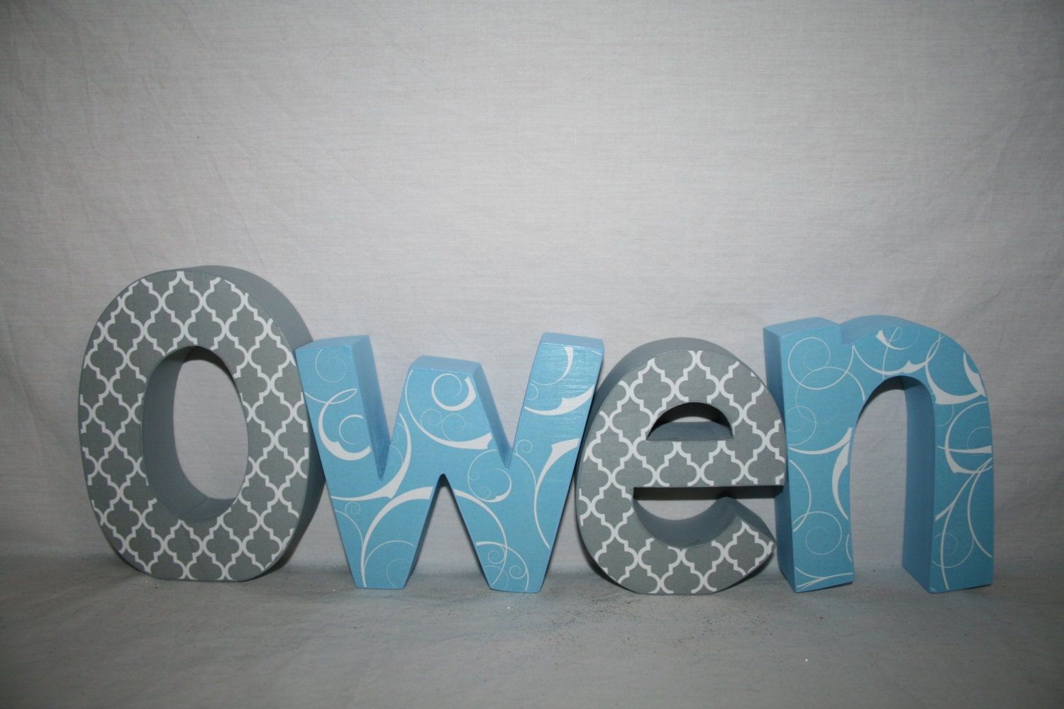 wooden letters for nursery nursery letters 4 letter set wood letters name sign name letters blue nursery decor baby shower decor