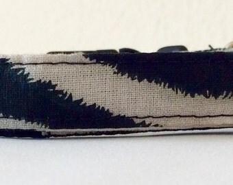 Zebra Stripes - Eco Cat Collar