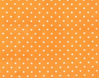 Michael Miller - Pinhead Dot in Apricot - By The Yard