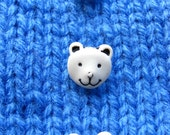 Teddy Bear Face Buttons