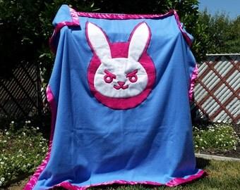 D.Va Overwatch fleece blanket
