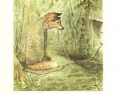 Beatrix Potter - MR.TOD Book Plate 74