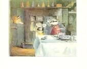 Beatrix Potter - MR.TOD Book Plate 79