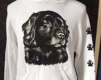 1980's dog hoodie sweatshirt