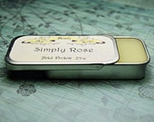 Solid Perfume - Simply Rose - Perfume Crème Tin - Roses and Lemon Zest
