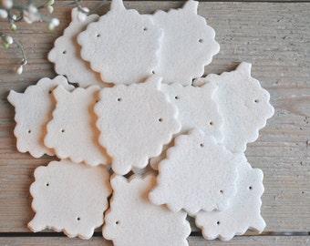 SALE Wholesale DIY Salt Dough Grapes Ornaments Set of 10