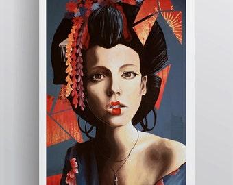 SOLDE - Art Print - Wannabe