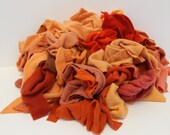 Recycled Cashmere Remnants - Orange 16oz