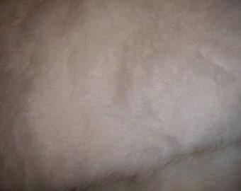White Faux/Fake Fur Fabric Yardage
