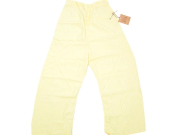 60s Silky Yellow Trouser —Size XS/S