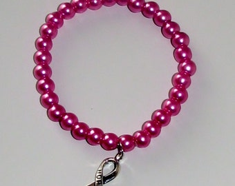 Breast Cancer Awarness Braclet