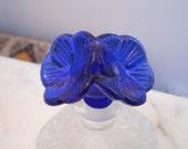 Deco Floral Glass Perfume bottle