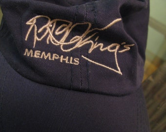 Never worn vintage BB King cap. One size fits all.