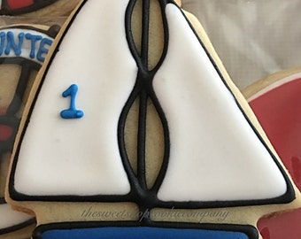 Sailboat Cookies 3 dozen