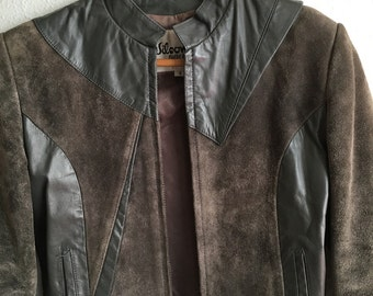 Wilsons leather 80's jacket