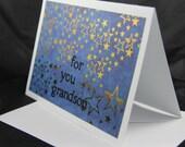 For You Grandson handmade card