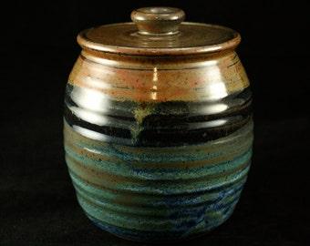 Handmade Lidded Jar
