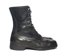 8.5 R | Men's 1977 Combat Boots Standard Issue Military Lace Up Boot