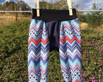 Bohemian Pants: Southwest Chevron