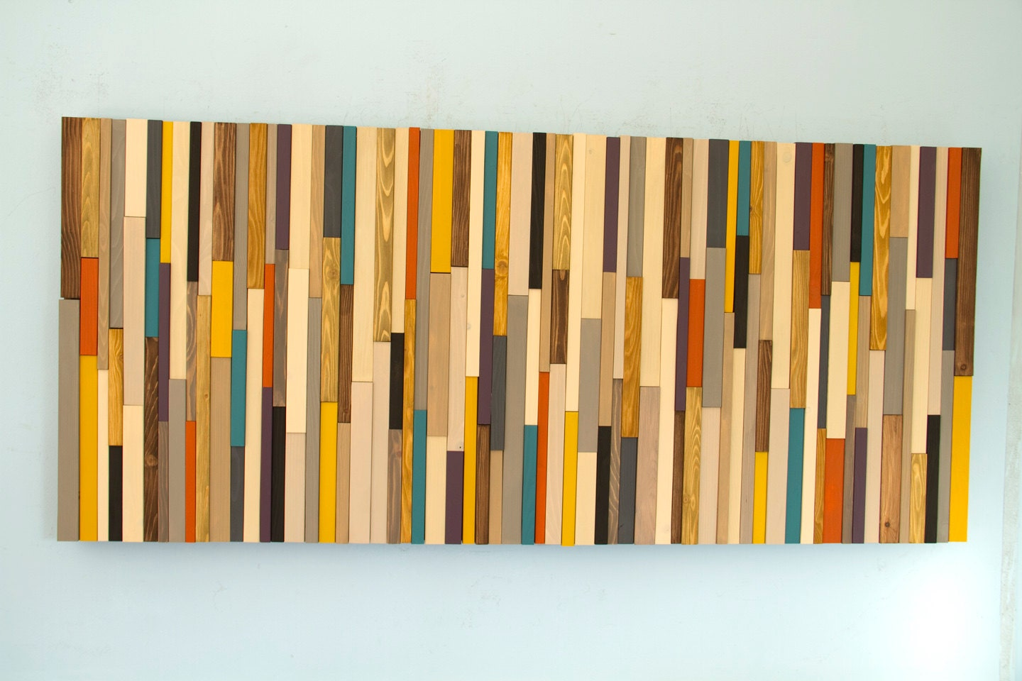 Generous Reclaimed Wood Wall Art Contemporary - The Wall Art ...