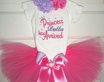 Princess Has Arrived-Personalized Newborn Photo shoot set