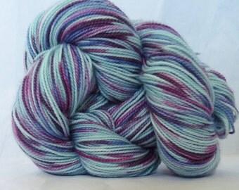 Aqua-fetti, Sock Weight yarn