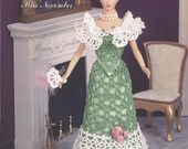 "The Bridal Trousseau Collection - Miss November - Annie's Attic Crochet Pattern Leaflet for 11 1/2"" Fashion Doll New Condition"