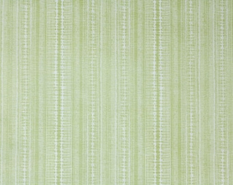 Retro Wallpaper by the Yard 70s Vintage Wallpaper - 1970s Green Stripes