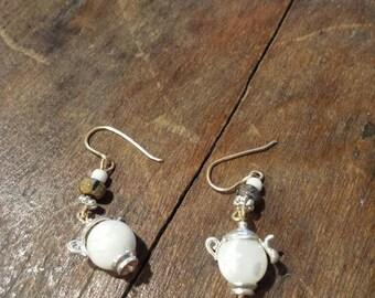 Cute Tiny Teapot Earrings