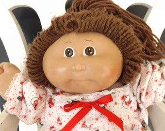 Vintage Cabbage Patch Doll, Cabbage Patch Kids, Girl's Toy, Girl's Doll, Collectible Doll,