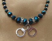Custom order for Tina- 3 Thin Blue Line bracelets to order