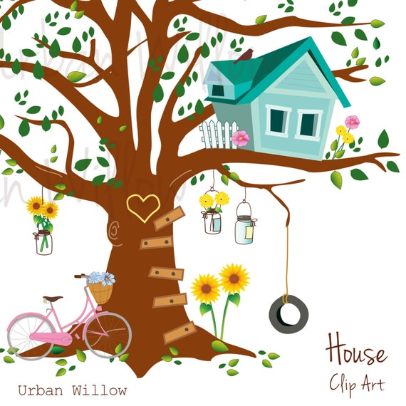 clipart pictures tree house - photo #44