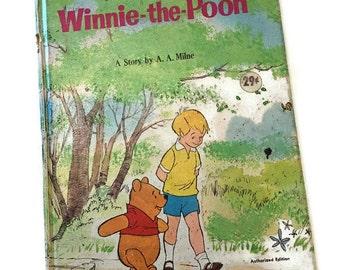 Winnie the Pooh vintage book